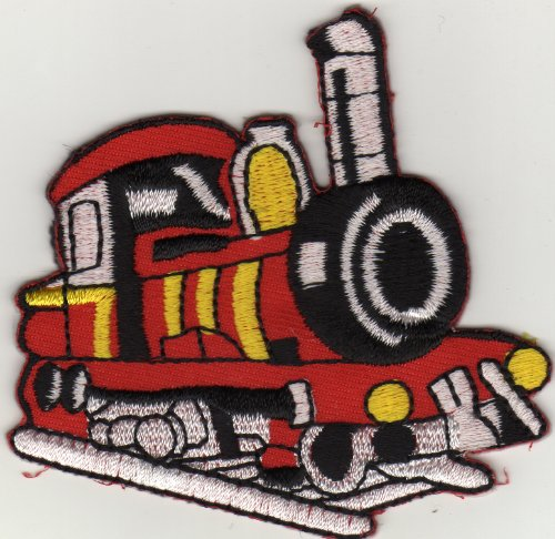 applicazione-con-ferro-da-stiro-applicazione-iron-on-patches-locomotiva-a-vapore-treno-ferroviario