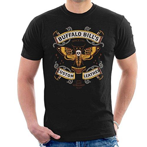 3b22b3e9 Cloud City 7 Silence Of The Lambs Buffalo Bills Custom Leather Men's T-Shirt