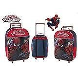 """Mochila """"trolley"""" infantil - Spiderman (27x16x72 cm)"""