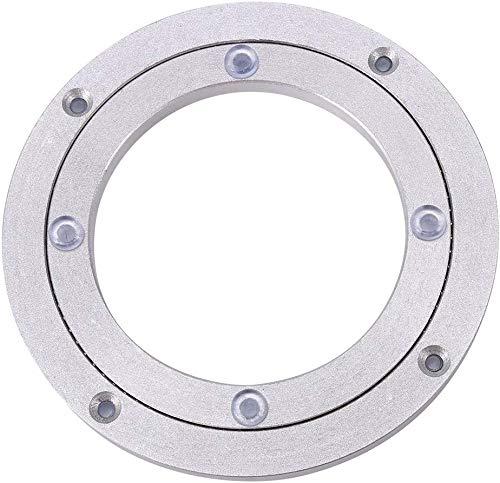 Heavy Duty Aluminium Legierung Rotierende Lager Turntable Runde Speisetisch Smooth Swivel Plate ( Abmessung : 8inch )