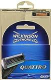 10x Wilkinson Sword lames rechange rasoir quatre classique 4pièces.