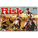 Hasbro Gaming Risk Game, Strategy Board Game; Updated Figures Improved Mission Cards; War Crates; for Kids Ages 10 and Up, 2-5 Players