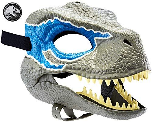 Jurassic World GCV81 - Velociraptor Blue Dinosaurier Maske, Rollenspielzeug ab 4 Jahren
