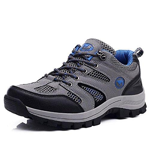 Hommes Chaussures de sport De plein air Chaussures de voyage Chaussures à outils Respirant Chaussures de randonnée Formateurs EUR TAILLE 39-45 Blue