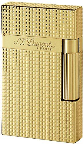 Von S.T. Dupont Zeile 2 16284 gold, versilbert
