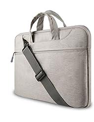 SLBGADIEME Water-resistant Laptop Shoulder Briefcase Bag Portable Computer case handbag For Apple Macbook Air Pro and other Notebook