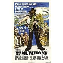Las mutaciones Póster de película 11x 17en–28cm x 44cm Donald Pleasence Tom Baker Brad Harris Julie Ege Michael Dunn