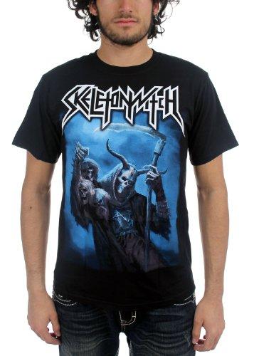 """Skeletonwitch At One """", da uomo, con le ombre-Maglietta, colore: nero"""