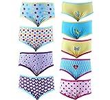 Spictex Girls' Panties (Pack Of 9) (SPIC...