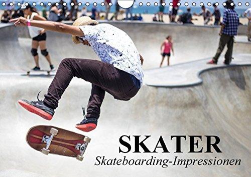 Skater. Skateboarding-Impressionen (Wandkalender 2018 DIN A4 quer): Vom Straßensport zur populären Sport-Disziplin (Monatskalender, 14 Seiten ) ... [Kalender] [Apr 01, 2017] Stanzer, Elisabeth