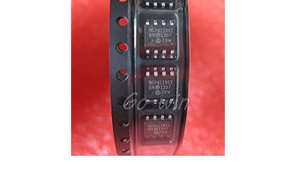2PCS MCP41100-I//SN IC POT DIGITL 100K 1CH SPI 8SOIC