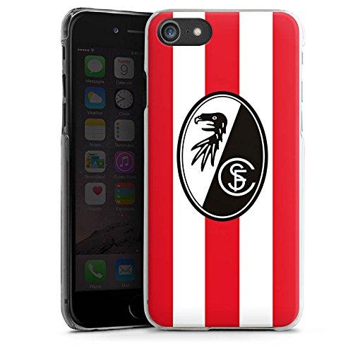Apple iPhone X Silikon Hülle Case Schutzhülle SC Freiburg Fanartikel Fußball Hard Case transparent