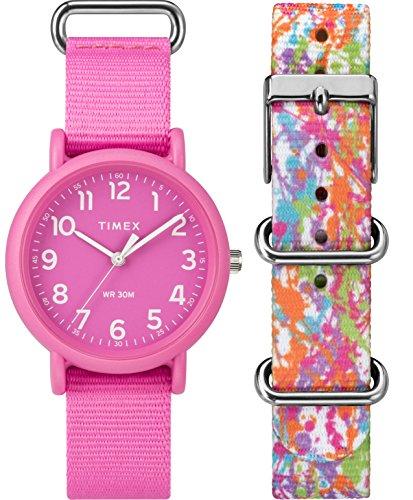 Timex Femme Analogique Classique Quartz Montre avec Bracelet en Nylon TWG018100