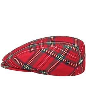 Tartan Check Coppola Lierys cappello piatto flat cap cappello invernale