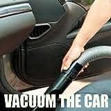 Vacuum The Car