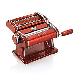 marcato atlas light alloy 150 pasta maker machine red kitchen home. Black Bedroom Furniture Sets. Home Design Ideas