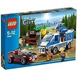 Lego City - 4441 - Jeu de Construction - Le Fourgon du Chien de Police