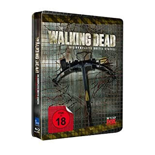 The Walking Dead - 3. Staffel (UNCUT) Steelbook