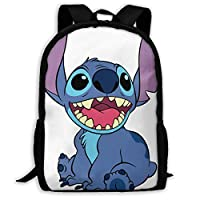 Custom Lilo Stitch Casual Backpack School Bag Travel Daypack Gift