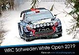 WRC Schweden White Open 2019 (Wandkalender 2019 DIN A3 quer): Impressionen der WRC Winterrallye in Schweden (Monatskalen