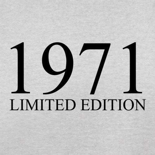 1971 Limierte Auflage / Limited Edition - 46. Geburtstag - Herren T-Shirt - 13 Farben Hellgrau