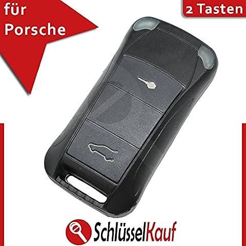 Porsche Flip Caso chiave telecomando con 2tasti Cayenne 911Carrera Turbo auto nuova
