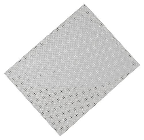 Silicone Gold Set de Table, Blanc, 45 x 30 x 1 cm