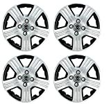 Hotwheelz Silver Black 14 inch Wheel Cover for Nissan Evalia (Set of 4) Amazon Rs. 1495.00