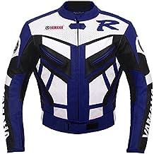Yamaha Racing Moto Chaqueta de cuero (L (EU52-54))