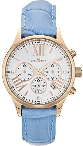 Ladies Kennett Lady Savro Empire Chronograph Watch LSERGWHSKBL