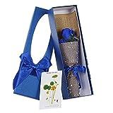 Zoylink Künstlicher Blumenstrauß Kreative 3 Seife Blumen Dekor Bouquet Faux Blume für Hochzeit Valentinstag