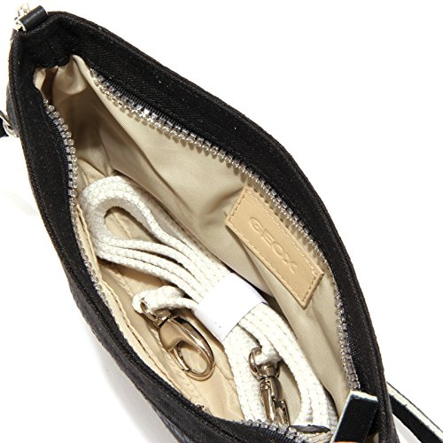 3015U pochette donna GEOX black lino tracolla handbag woman Nero Profesional De La Venta Barata Códigos De Descuento En Línea De Compras Buena Venta Para La Venta Footaction Amazon Barato Barato Venta uB19EPV1z4