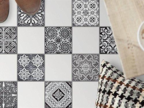 carrelage-autocollant-sol-cuisine-art-de-tuiles-sol-individualiser-sanitaires-motif-black-n-white-10