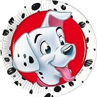 20cm Disney 101 Dalmatians Party Plates, Pack of 8