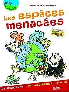 """Afficher """"Les espèces menacées"""""""