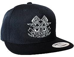 Baddery Petrolhead Industries: Piston - Cap für alle Tuning-, Drift-, und Motorsport Fans - Classic Snapback von Flexfit (one Size)