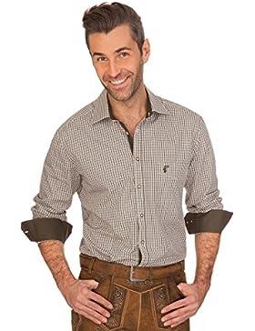 Trachtenhemd mit Langem Arm - Franz - Loden