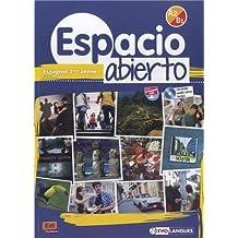 Espacio Abierto Niveau 2 Livre de l'élève + CD-ROM et accès à ELEteca