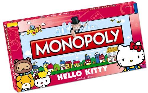 Hello Kitty Juego de mesa Monopoly