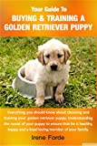 Your Guide To Buying & Training A Golden Retriever Puppy.
