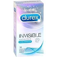 Durex Invisible, extra dünne Kondome, 1er Pack (1 x 10 Stück) preisvergleich bei billige-tabletten.eu
