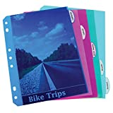 Best Index Dividers - C-Line Mini Size 5-Tab Poly Index Dividers, Review