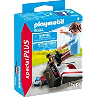 Playmobil 9094 Special Plus Skateboarder with Ramp Toy Set, Multi