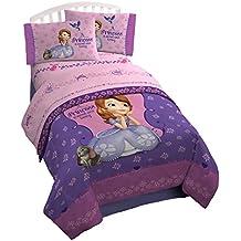 Junior de Disney Sofía la Primera Princesa Full Juego de sábanas ropa de cama