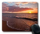 Beach Sunset Gaming Mouse Pad - Durable ...