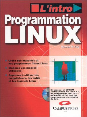 Programmation Linux (CD rom)