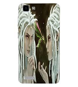 ColourCraft Angel Design Back Case Cover for VIVO Y27L