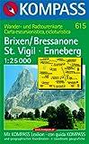 Carta escursionistica n. 615. Brixen, Bressanone