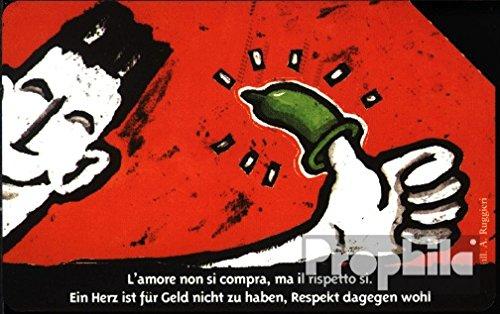 Prophila Collection Italien 900 5000 Lire Aidshilfe Kondome (Telefonkarten für Sammler) Gesundheit