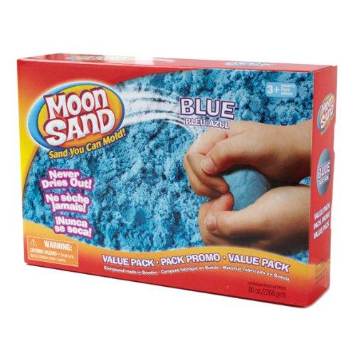 Waba Fun Moon Sand Space Blue 5 Lb Box